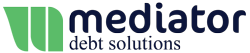 Mediator Debt Solutions Credit Card Debt Relief for Families Struggling with Debt. Logo