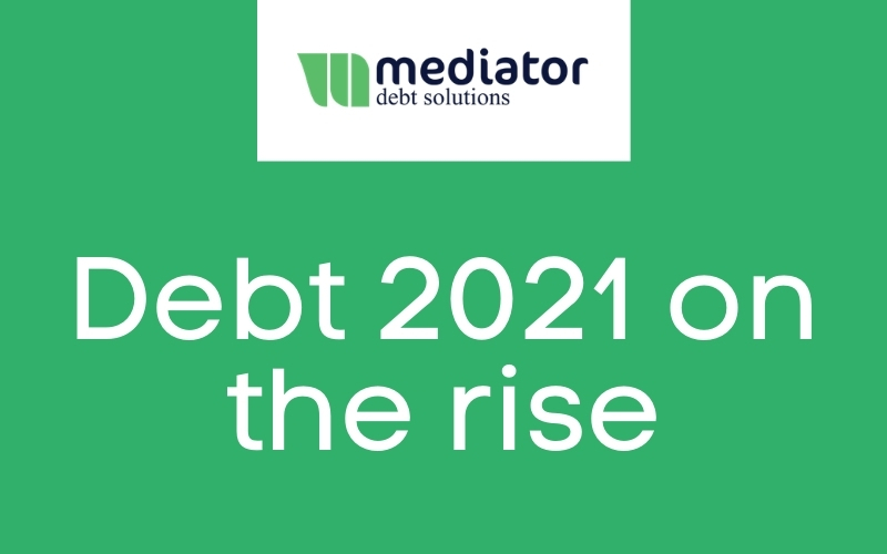 Debt 2021 on the rise