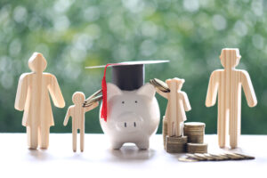Family Paying College Debt