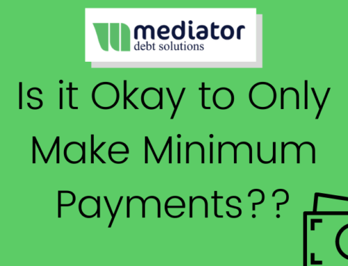 Is it Okay to Only Make The Minimum Payment?